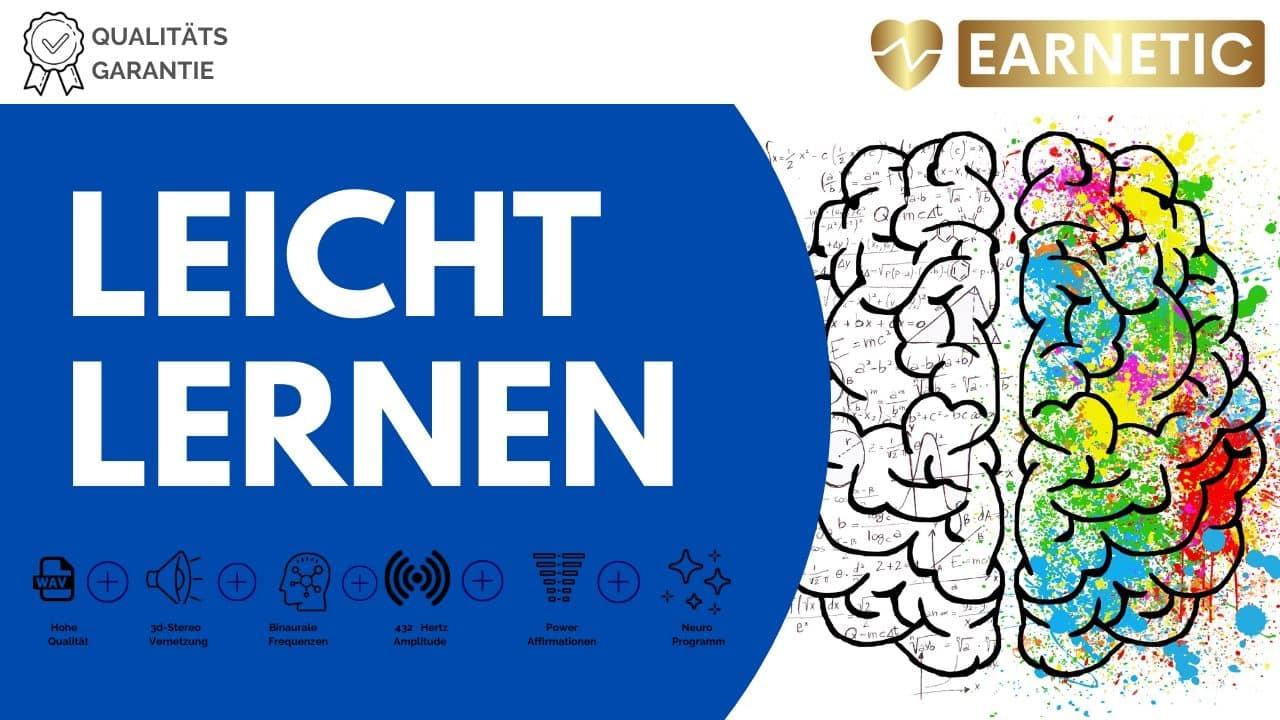 Leichter Lernen Lernen - Silent Subliminal Earnetic.de