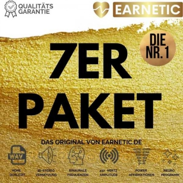 7er-Paket-Deutsche-Silent-Subliminals-von-EARNETIC-plus-Bonus
