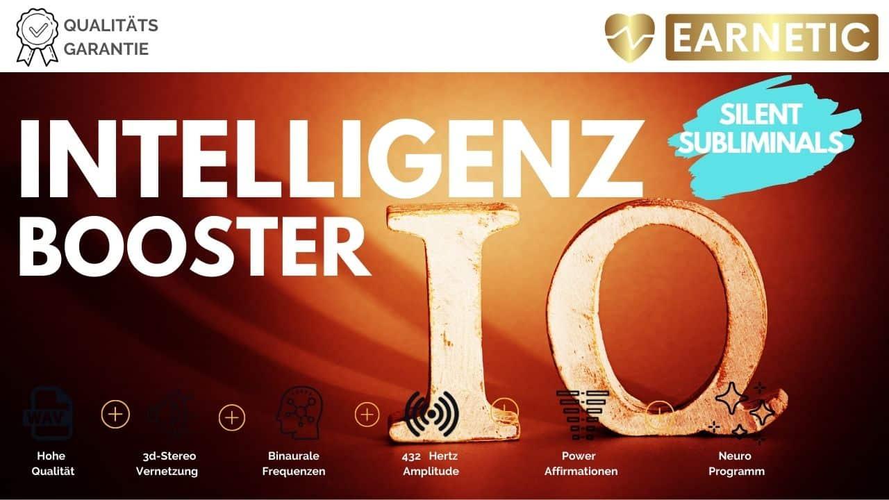 Silent Subliminals - Intelligenz-Booster - verbessere das Gedächtnis und entfessle dein inneres Genie - Silent Subliminal