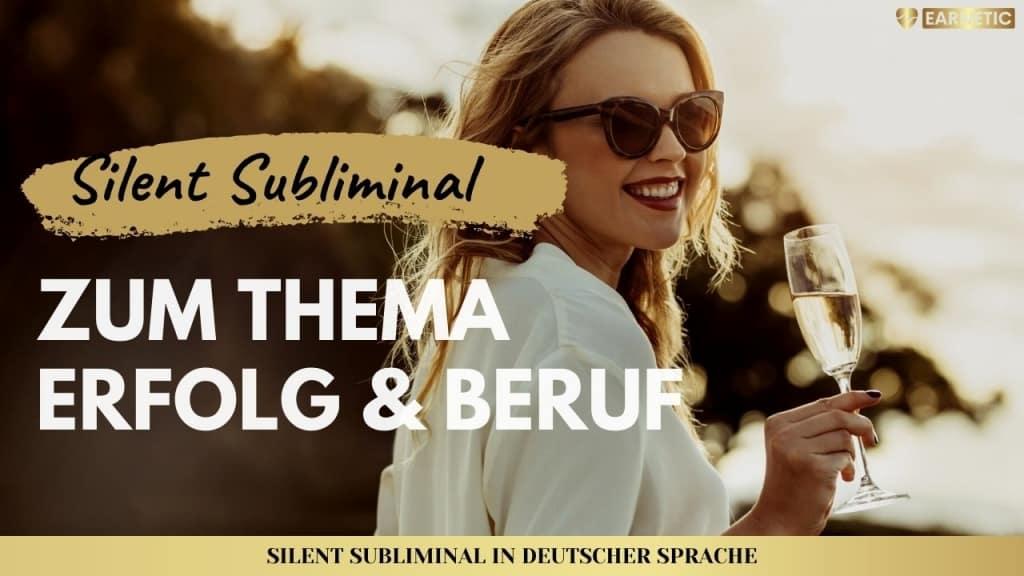 Silent Subliminals - Audiopakete für Erfolg & Beruf
