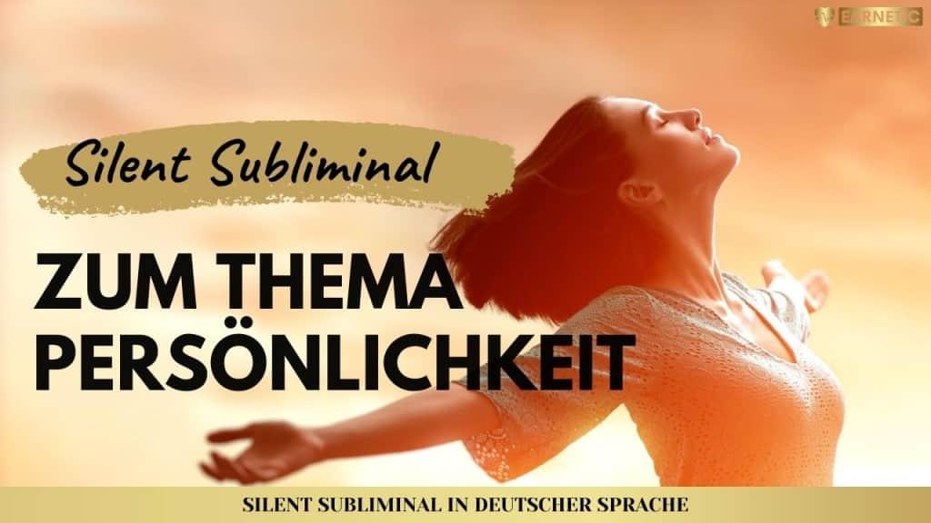 Silent Subliminals - Audiopakte für Persönlichkeit & Bewusstsein